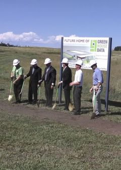 Green House Data Breaking Ground in Wyoming