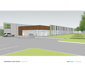 new cheyenne data center exterior image