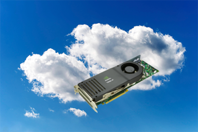 GPU cloud computing