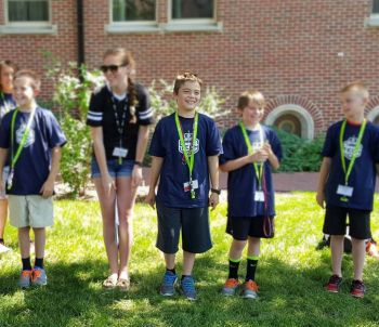 Wyoming kids at coding camp