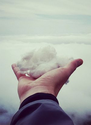 Holding the cloud in your hands
