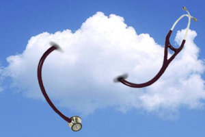stethoscope in the clouds