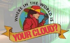 Where is the world is your cloud?