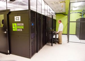 Inside Green House Data's data center