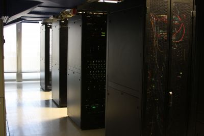 the inside of the Seattle data center