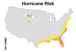 hurricane risk map