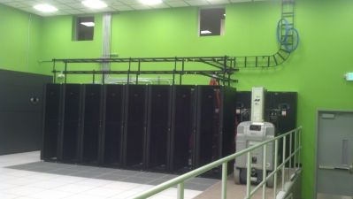 a server rack within the newest data center