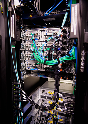 Improving Server Efficiency And Airflow Through Cable