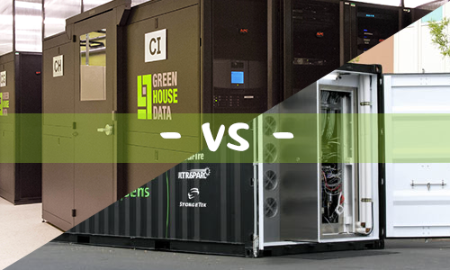 modular vs containerized data centers