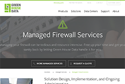 Green House Data's Managed Firewall Services