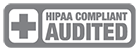 HIPAA compliant audited badge