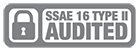 SSAE 16 Type 2 audited badge